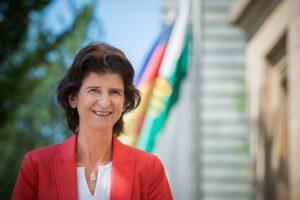 Dr. Eva-Maria Stange, Sächsische Staatsministerin für Wissenschaft und Kunst.